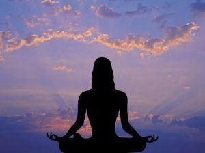медитция на свежем воздухе