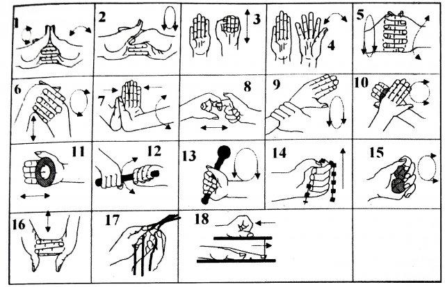 гимнастика для пальцев