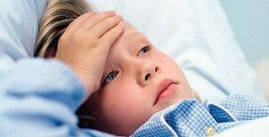 ребенок температурит