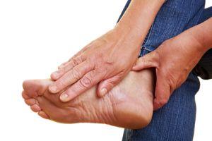 чувствительность ноги