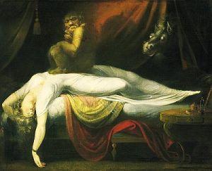 старая ведьма сонный паралич