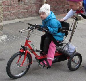 велотренажер для ребенка с ДЦП