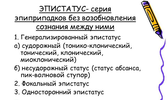 эпистатус классификация