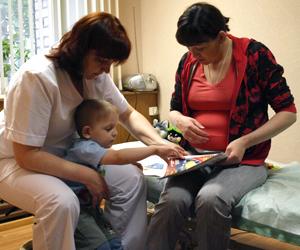 Помощь ребенку с ДЦП
