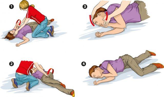 оказание первой помощи при припадке