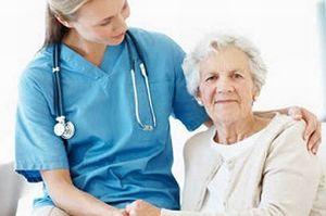 в больнице с врачом