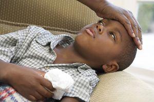 у ребенка менингит