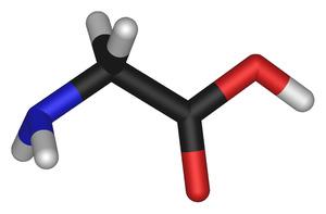 Химическая цепочка Глицина