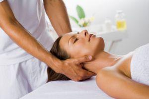расслабляющий массаж шеи