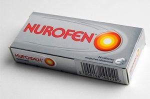 коробка лекарства от мигрени