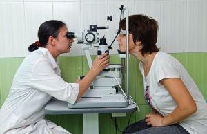 профилактический осмотр у окулиста