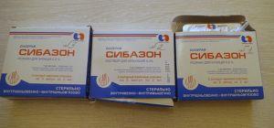 В коробках лекарство