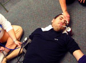 Травмы при болевом обмороке