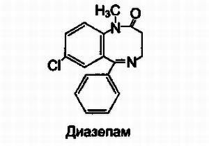 Формула Диазепама