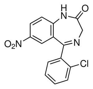 Формула Клоназепама
