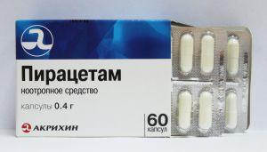 Пирацетам в таблетках