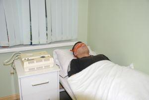 пациент во сне