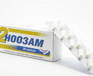 таблетки Ноозам