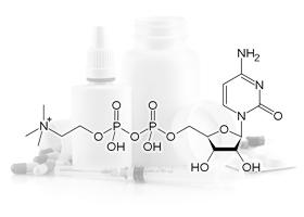 Формула вещества цитиколин натрия