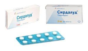 Сирдалуд таблетки