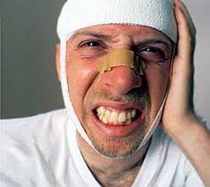 головная боль при ушибе