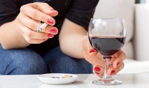 алкоголь мозг и сигарета