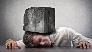 стресс давит