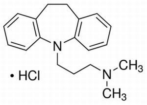 Формула гидрохлорида имипрамина
