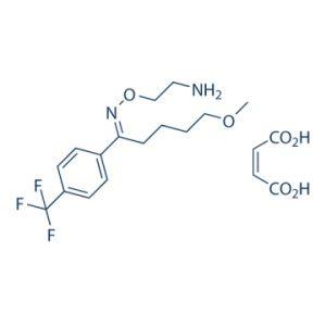 Формула флувоксамина малеат