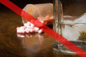 запрет на прием лекарства и алкоголя