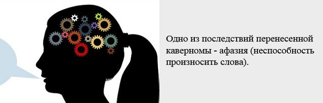 Афазия при опухоли мозга