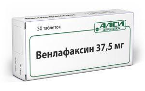 венлафаксин 37, 5