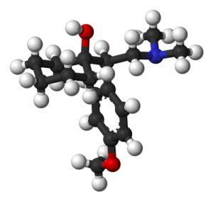 Структурная формула венлафаксин