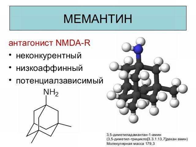 мемантина гидрохлорид