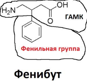 Формула фенибута