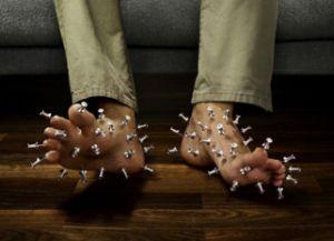 онемение и покалывание в ногах