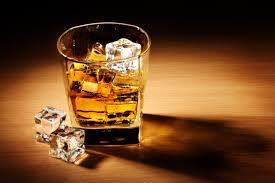 Алкоголь на столе