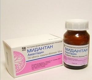 Амантадин (Мидантан, Симметрел): инструкция по применению ...