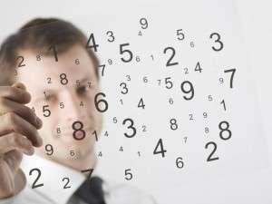 цифры в голове