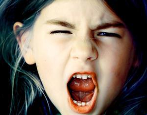 Крик девушки