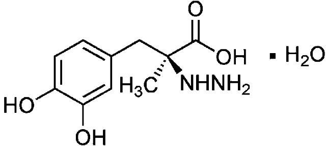 Формула вещества леводопа