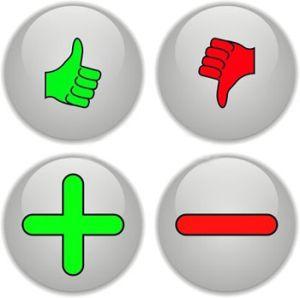 плюсы и минусы