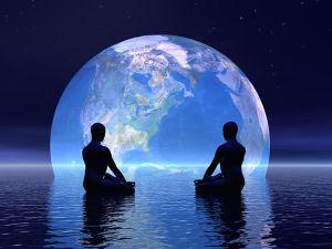 двое под луной