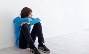 парень в депрессии