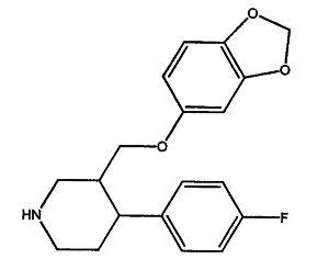 пароксетина гидрохлорида гемигидрат