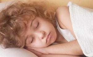 Девочка отдыхает