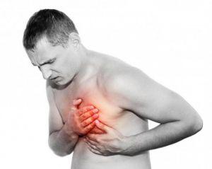 Болит грудина