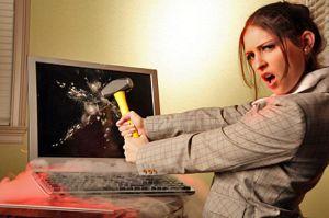 женщина-психотичка