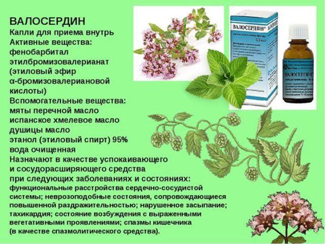 Состав Валосердина