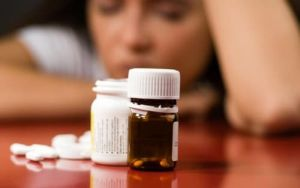 антидепрессанты на столе